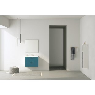 Barrister 81mm Wall Hung Single Vanity Unit By Ebern Designs