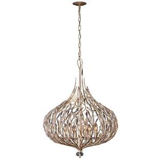 Varaluz Bask 6-Light Globe Chandelier