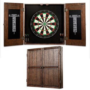 Webster Dartboard and Cabinet Set by Barrington Billiards Company