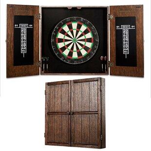 Webster Dartboard And Cabinet Set