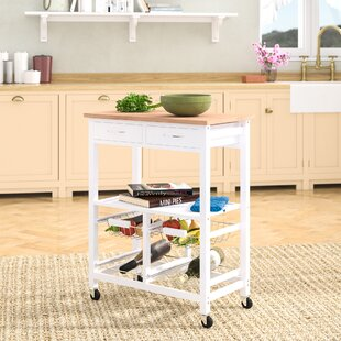 Barletta Kitchen Cart Gracie Oaks