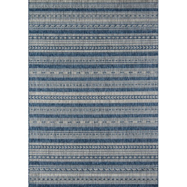Novogratz Tuscany Blue Indoor/Outdoor Area Rug & Reviews | Wayfair