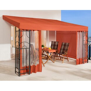 Romana 4m X 3m Steel Permanent Gazebo By Quick-Star