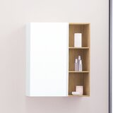 Free 31.5 W x 9.06 H Wall Mounted Cabinet by Ronbow