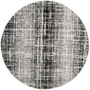 Costa Mesa Gray/Black Area Rug by Trent Austin Design