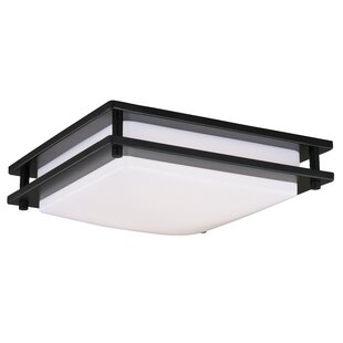 Bloomsbury Market Wiliams 1-Light LED Flush Mount