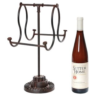 2 Bottle Tabletop Wine Rack by Wilco Home