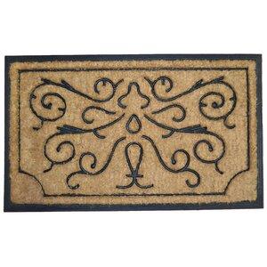 Swirls and Twirls Doormat