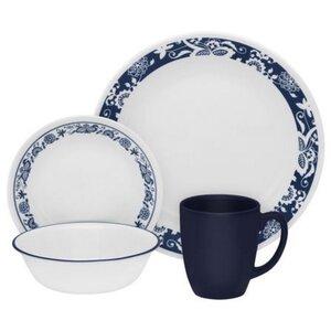 Livingware True 16 Piece Dinnerware Set, Service for 4