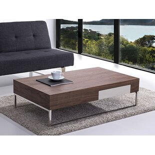 Wade Logan Abel Coffee Table with Storage