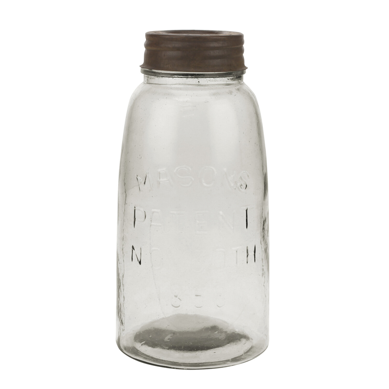 sc 1 st  Wayfair & Charlton Home Large Mason Storage Jar with Rust Lid u0026 Reviews | Wayfair