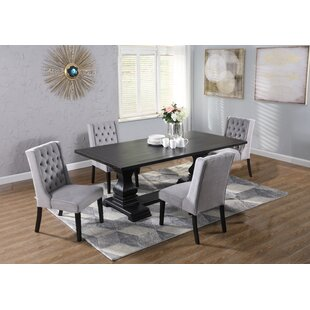 Christia 5 Piece Dining Set DarHome Co