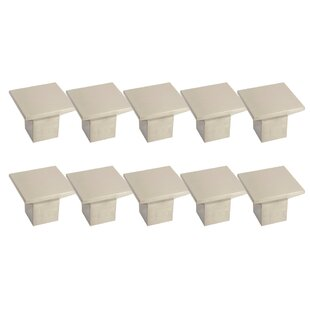 Cubist Square Knob (Set Of 10) by Design House Reviews
