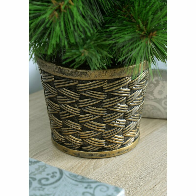 3ft Christmas Trees Artificial: The Seasonal Aisle Victorian 3ft Green Pine Artificial