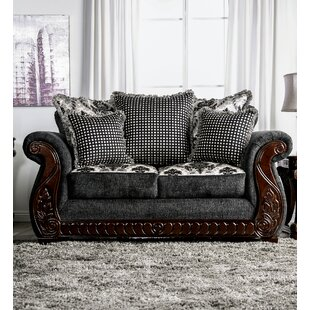 Renna Rolled Arms Loveseat