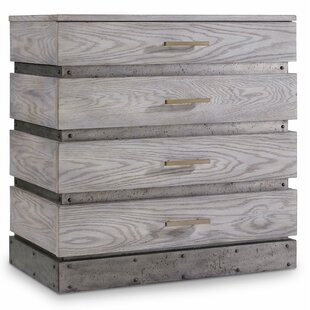 Melange 4 Drawer Accent Chest