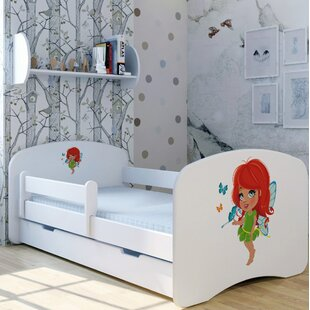 Ginger Fairy Bed With Mattress And Drawer By Zoomie Kids