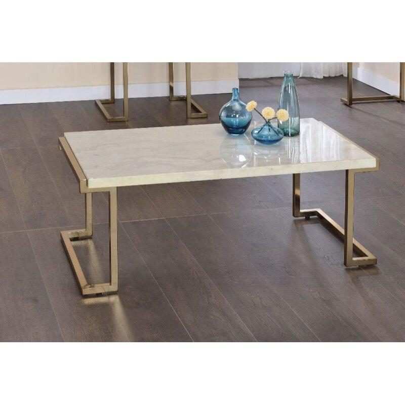 Everly Quinn 3 Piece Coffee Table Set Wayfair