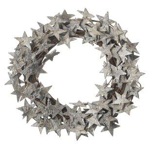 Star 36cm Christmas Wreath By The Seasonal Aisle