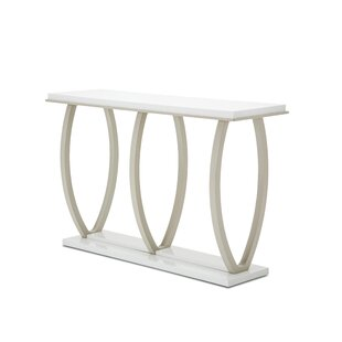 Sky Tower Console Table by Michael Amini