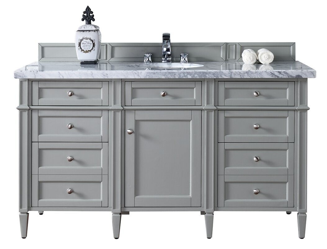 bathroom vanity without sink top. Brittany 60  Single Bathroom Vanity Base Vanities without Tops You ll Love