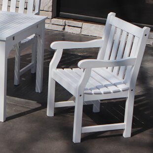 Kincheloe Patio Dining Chair by Beachcrest Home