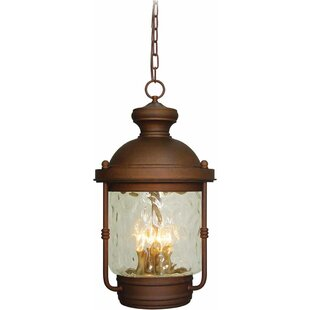 Reviews Sterling 4-Light Outdoor Hanging Lantern By Volume Lighting