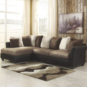 Signature Design by Ashley Sectional Sofas Youll Love Wayfair