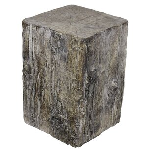 Loon Peak Fources Cement Stool
