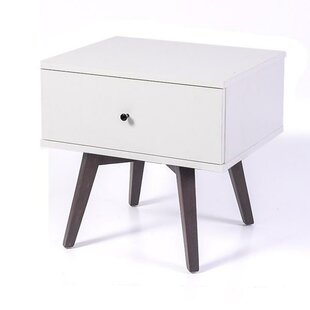 Paulson Bedside 1 Drawer Nightstand