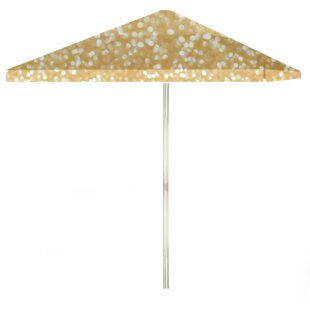 Best of Times Glitter Me Gold 6' Square Market Umbrella