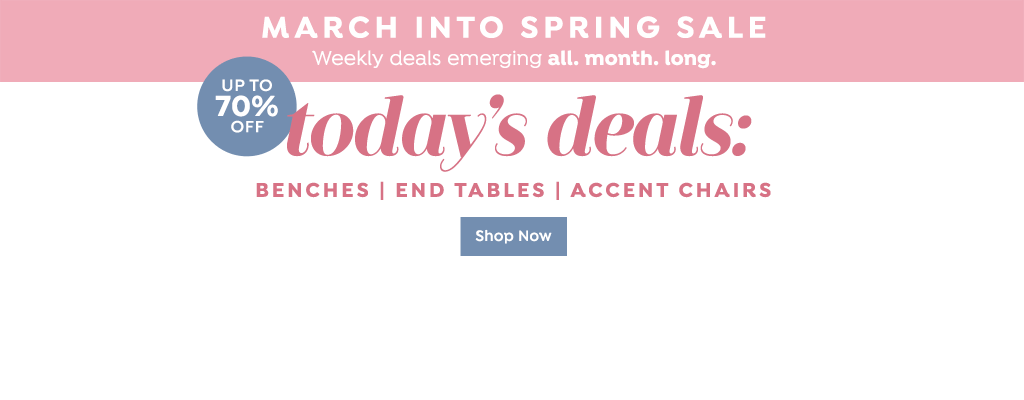 March into Spring Sale