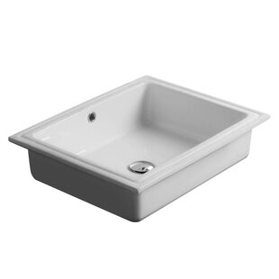 WS Bath Collections City Ceramic Rectangu..