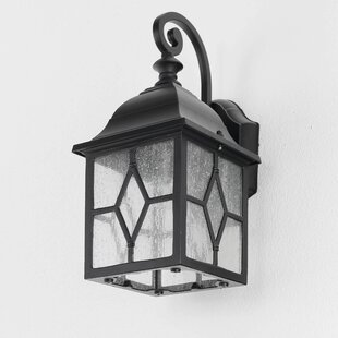 Lübeck 1 Light Outdoor Sconce By Marlow Home Co.