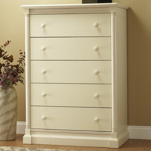 Orbelle Trading Imperial 5 Drawer Chest