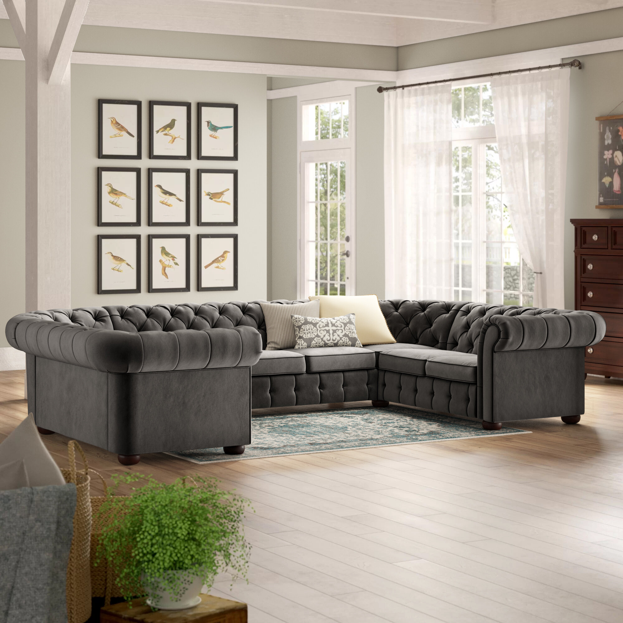 Kelly Clarkson Home Bainsby 142 Right Hand Facing Sectional Birch Lane
