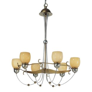 Zanin Lighting Inc. Rimini 6-Light Shaded Chandelier