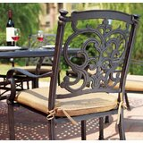 Batista Traditional 10 Piece Dining Set with Cushions