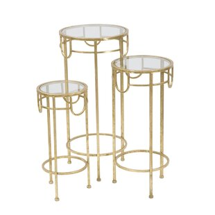 Julissa Pedestal Plant Stand (Set Of 3) By Canora Grey