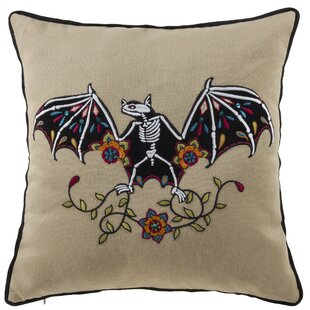 Luna Bat Throw Pillow