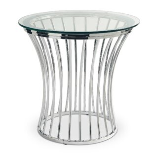 Buy clear Logston End Table By Rosdorf Park