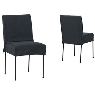 Heimbach Upholstered Dining Chair (Set of 2) Williston Forge