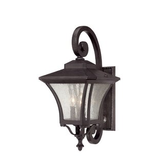 Compare Herald 3-Light Outdoor Wall Lantern By Bloomsbury Market