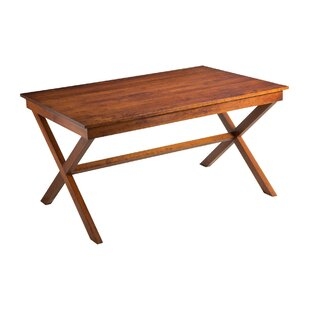 Xander Solid Wood Dining Table Joe Ruggiero Collection