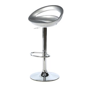 Toups Adjustable Height Bar Stool by Wade..