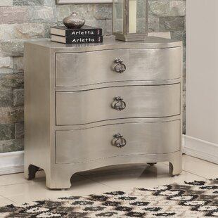 Messerly 3 Drawer Accent Chest by Rosdorf Park