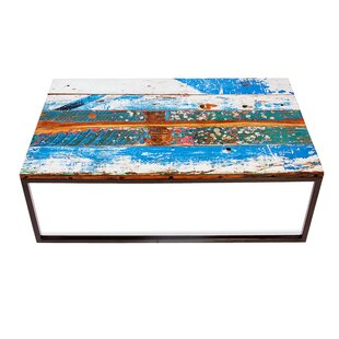 Beach Buoy'S Coffee Table by EcoChic Lifestyles