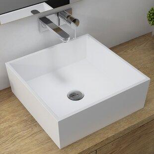 Price comparison Natura™ Square Vessel Bathroom Sink ByKraus