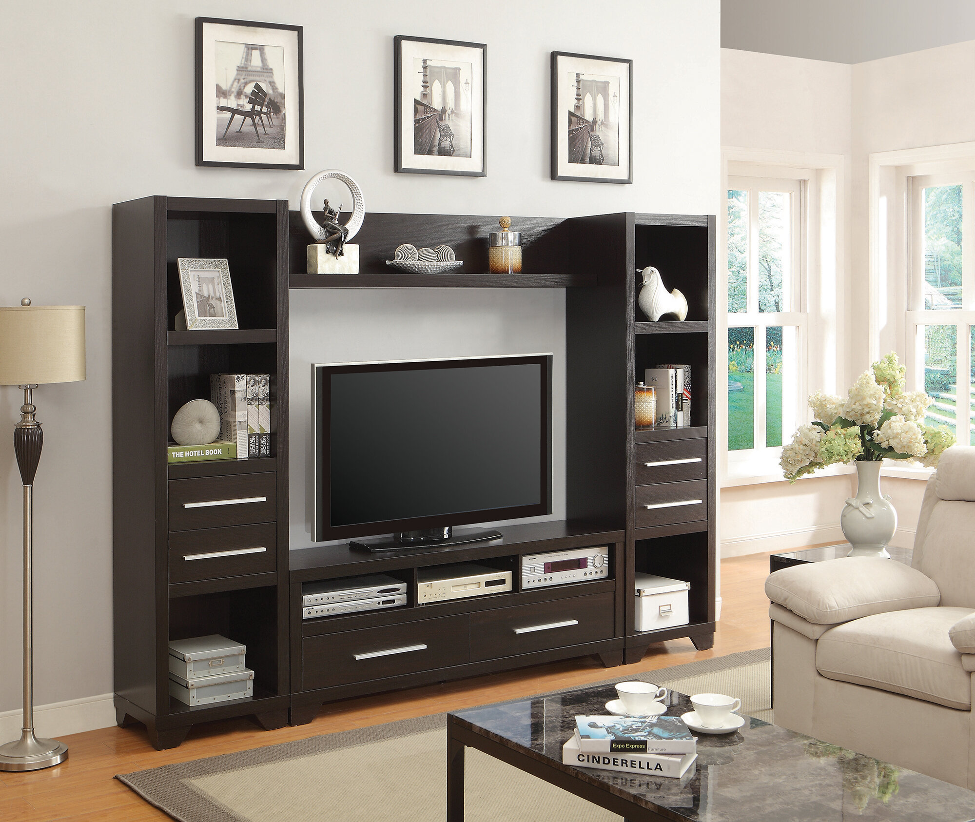 Expo Tv Stands : Tv stand with tilting swiveling bracket fits monitors u d