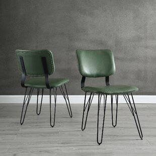 Petty Accent Upholstered Dining Chair (Set of 2)
